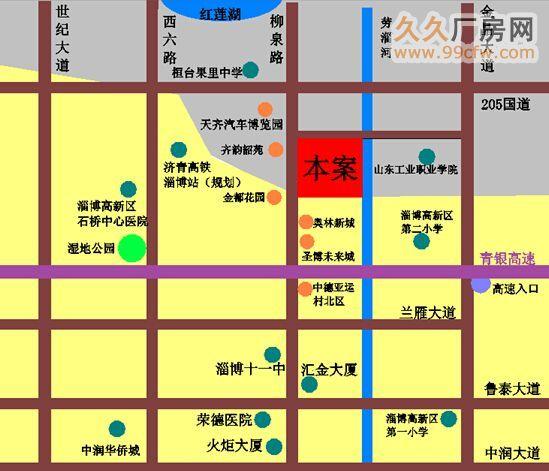 山东淄博桓台县258亩商住用地低价出让-图(1)