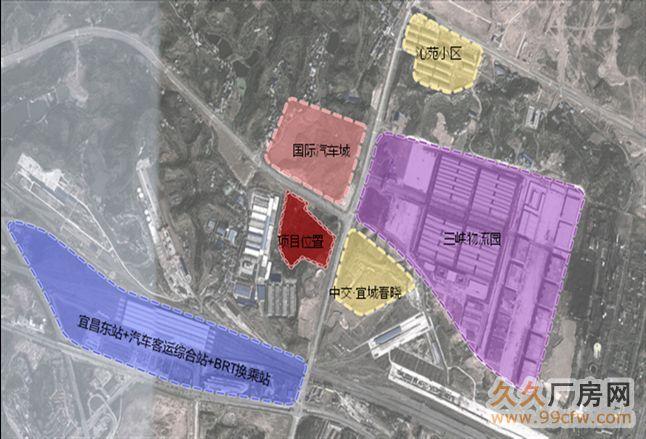 湖北宜昌伍家岗区78亩住宅用地出让-图(1)