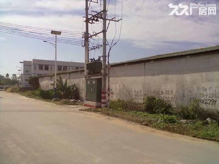 从化鳌头龙潭墟10亩工业地5500方厂房转让-图(4)
