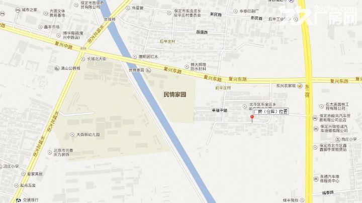 东二环复兴路前辛庄(厂房)仓库出租-图(1)
