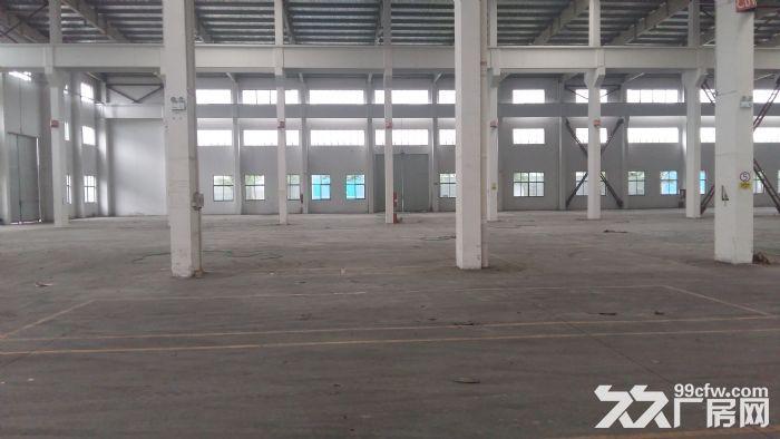 无锡鸿山区振发路附近园区11000㎡厂房出租-图(1)