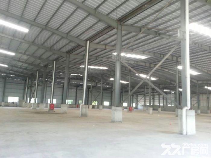 开平市百合镇325国道旁三顾楼路段厂房出租-图(1)