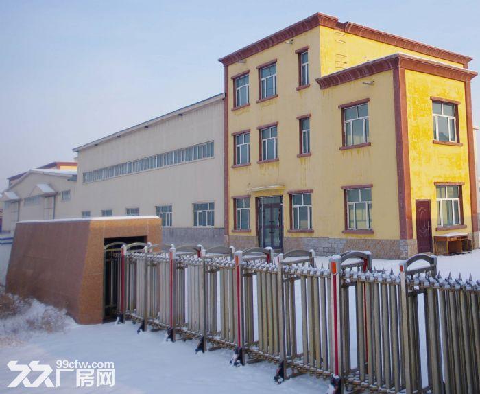 标准现代化厂房独院带办公楼及宿舍楼配套设施齐全-图(1)