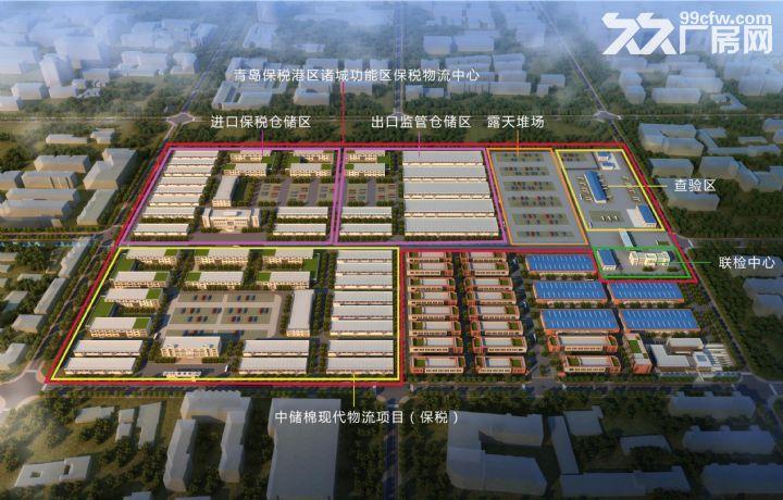 青岛保税港区诸城功能区保税物流中心地块出售-图(2)