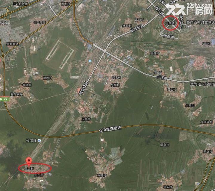 急售王岗附近三姓村民房带个大院子3000米左右-图(1)