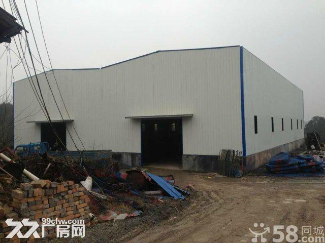 汨罗市弼时镇(107国道1568公里处)有专变的钢构厂房出租-图(1)