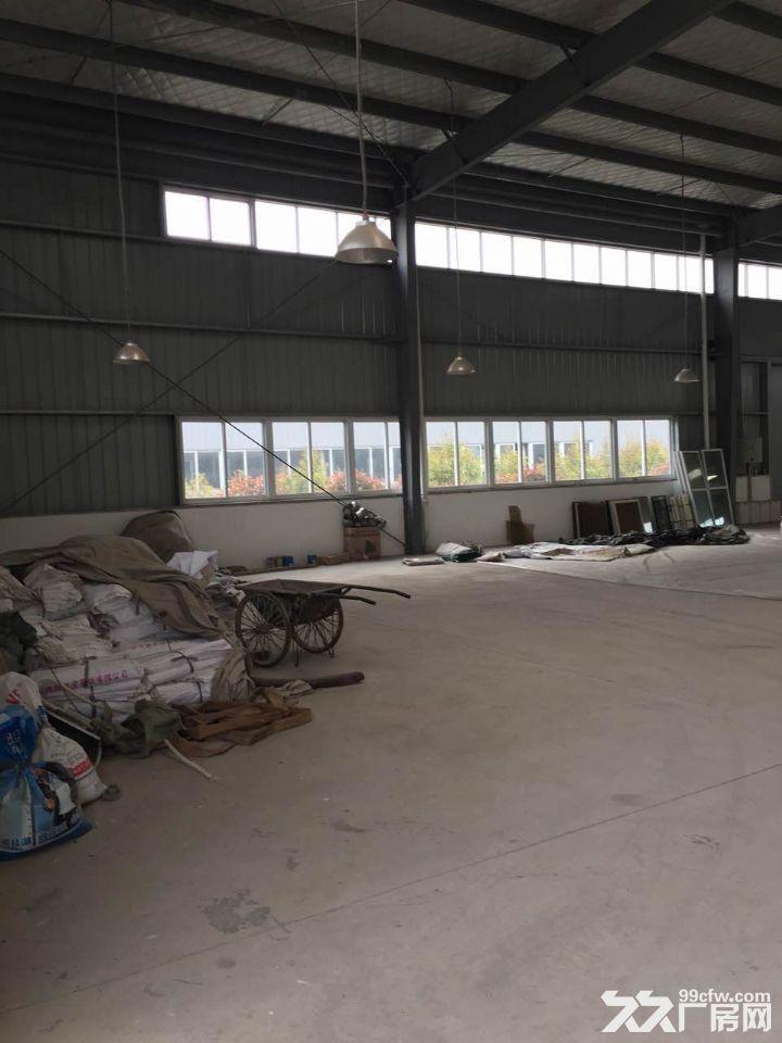九洲体育馆对面3000平方标准厂房出租8元-图(3)