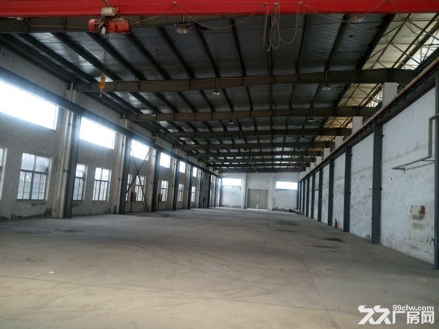 桥林1700平方米厂房出租,带2台行车有三个大门,长90米-图(2)