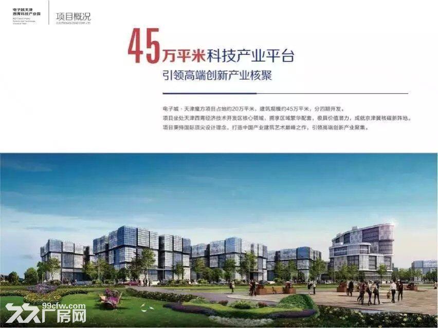 入住开发区天津产业新地标−−−电子城天津魔方-图(1)