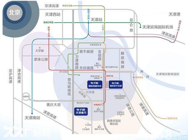 百万平米恢宏建筑群多元的链式产业聚集地-图(3)