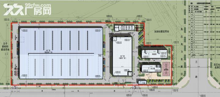 30米跨度单层钢构厂房1.8万平,框架3层共1万平,厂房出租-图(2)