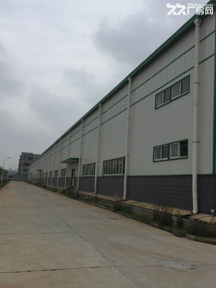 30米跨度单层钢构厂房1.8万平,框架3层共1万平,厂房出租-图(7)