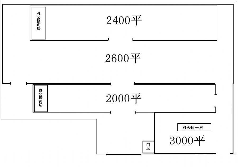 平房区标准厂房使用面积一万平、办公、宿舍、生产、仓储一体-图(2)