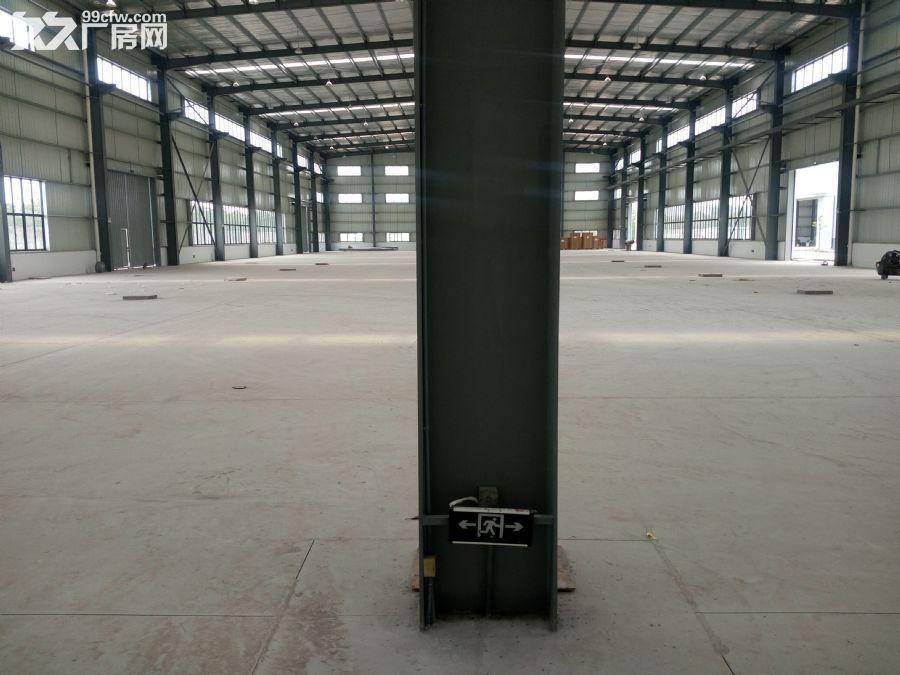 上坊4800平方米仓库出租,高9米。有平台-图(1)