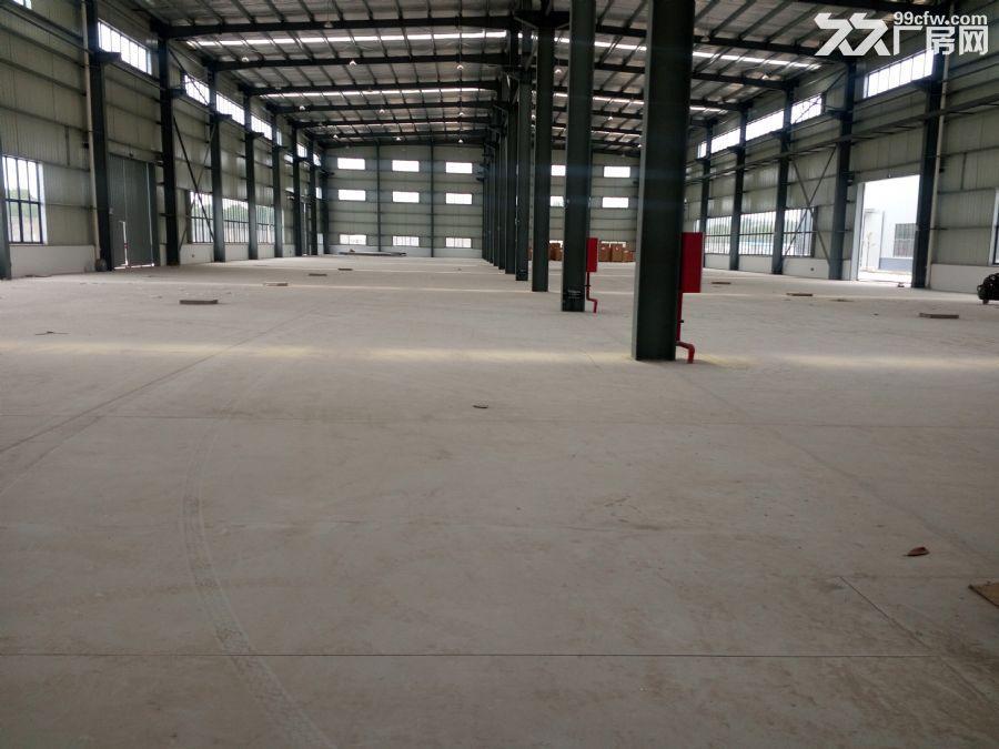 上坊4800平方米仓库出租,高9米。有平台-图(3)