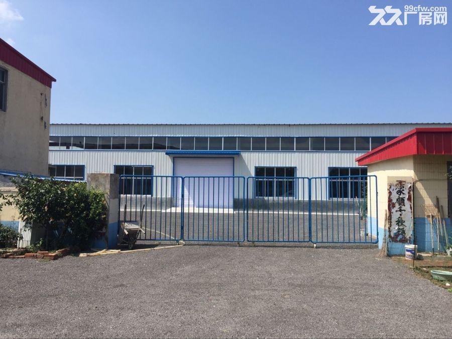 【7图】(出租)枳沟镇钢结构厂房二层办公楼出租!