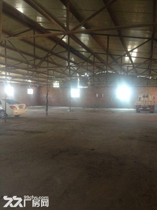 原编织袋厂厂房出租,包含一大一小两个厂房以及六间小房子-图(1)