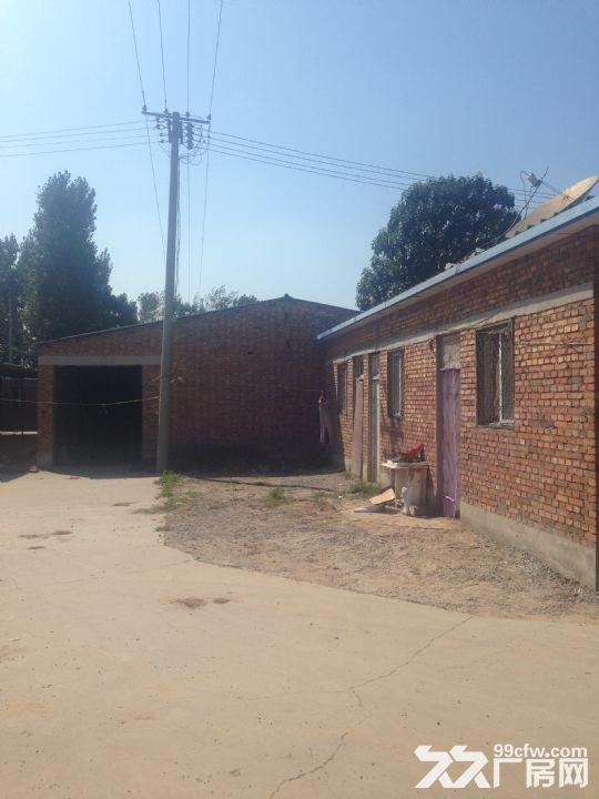 原编织袋厂厂房出租,包含一大一小两个厂房以及六间小房子-图(4)