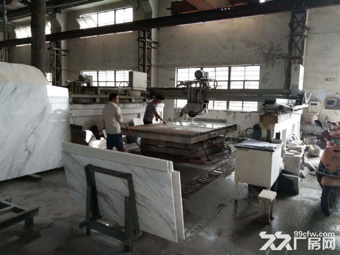 正常生产的石材加工厂转让