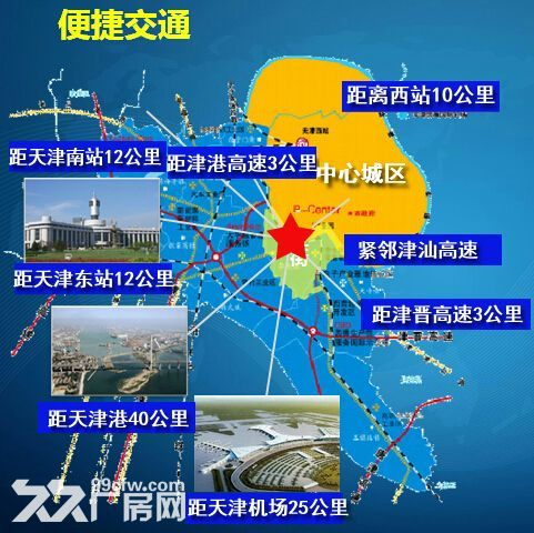 天津梅江商圈厂房办公楼3000平起定向开发出售-图(3)