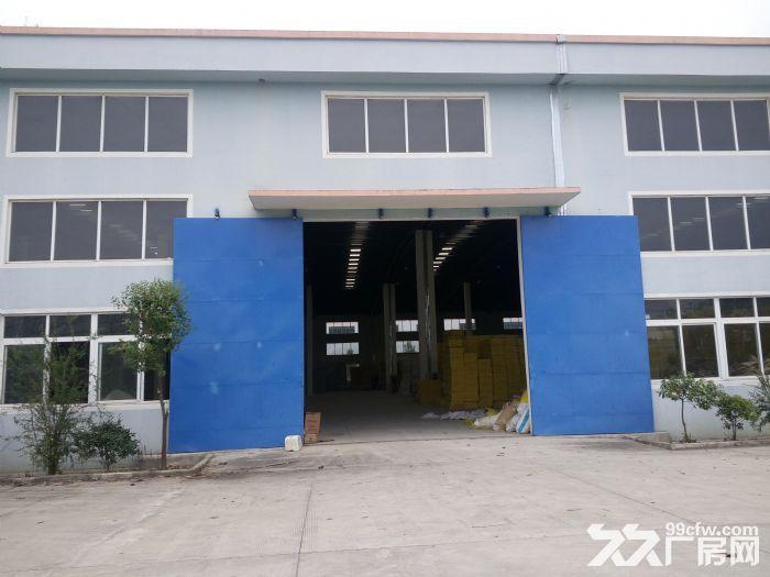 陶吴1300平方米单层厂房出租,高9米独幢厂房,环氧地面-图(1)