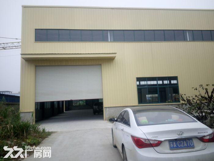 2100平方米厂房出租,高10米有行车梁,钢结构厂房-图(1)