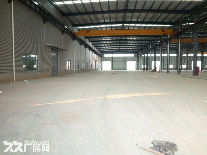 句容5000平方米厂房出租,钢结构厂房,可分租有平台。适-图(2)