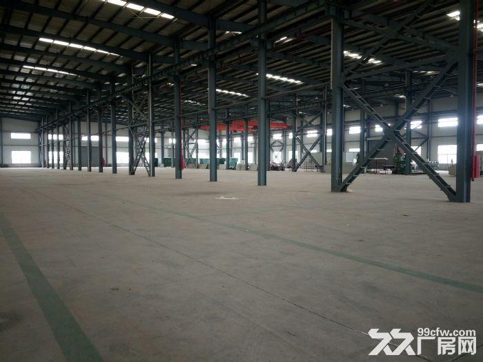 出租南谯厂房5000平方,有行车梁。位于乌衣镇,钢结构厂房-图(1)