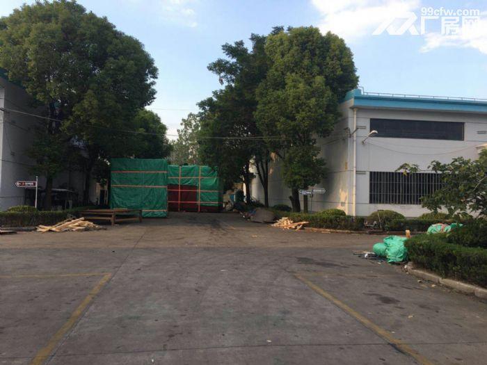 南翔工业区12600平米独院标准厂房仓库出租,可分割!产证齐全,配有办公宿-图(3)