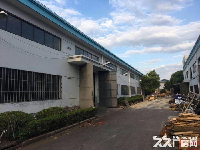 南翔工业区12600平米独院标准厂房仓库出租,可分割!产证齐全,配有办公宿-图(4)
