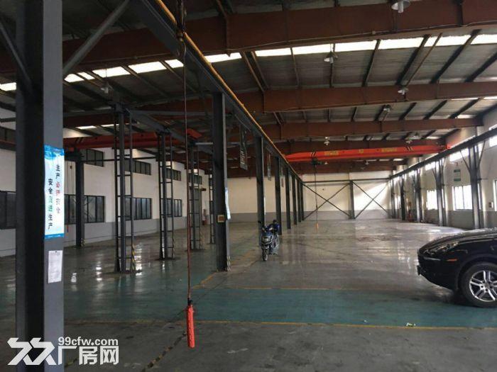 南翔工业区12600平米独院标准厂房仓库出租,可分割!产证齐全,配有办公宿-图(5)