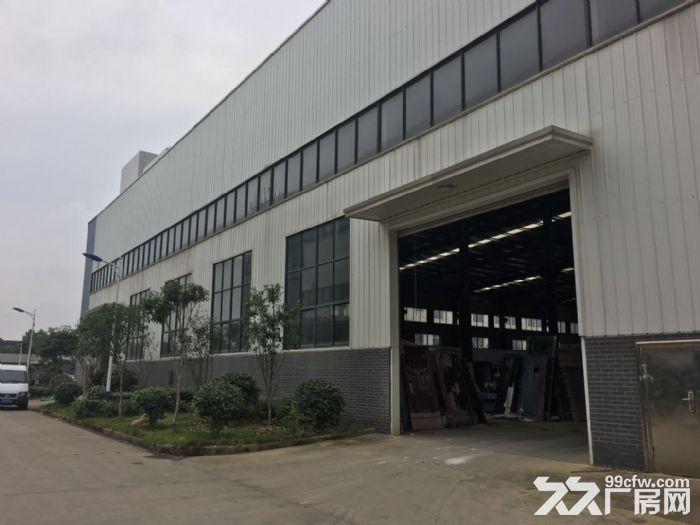 江夏区白沙洲大道沿长线2000㎡钢构厂房出租-图(1)