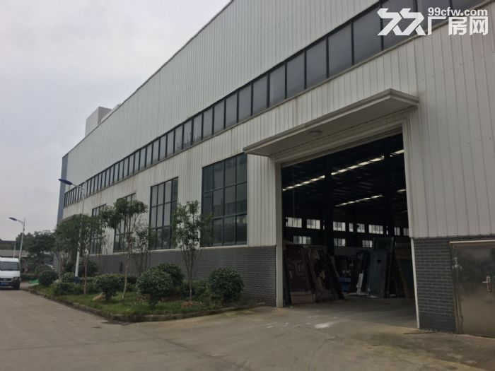江夏区白沙洲大道旁标准2000㎡钢构厂房出租-图(2)