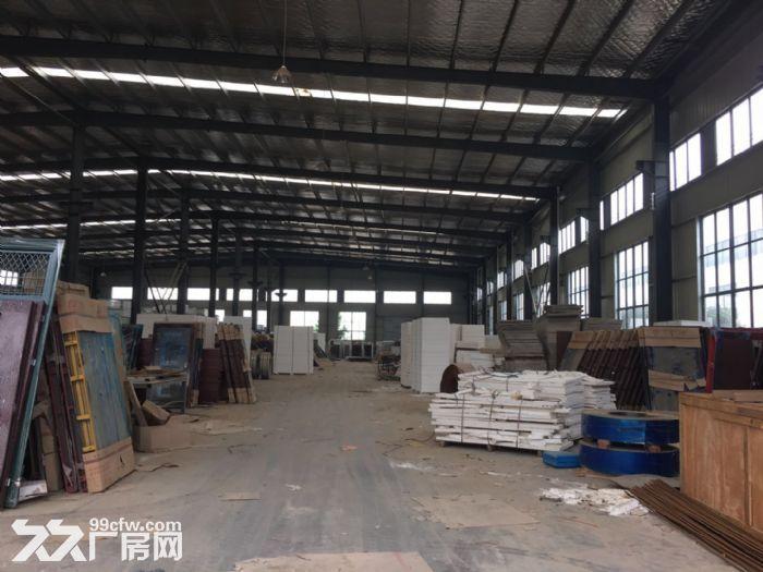 江夏区白沙洲大道旁标准2000㎡钢构厂房出租-图(4)
