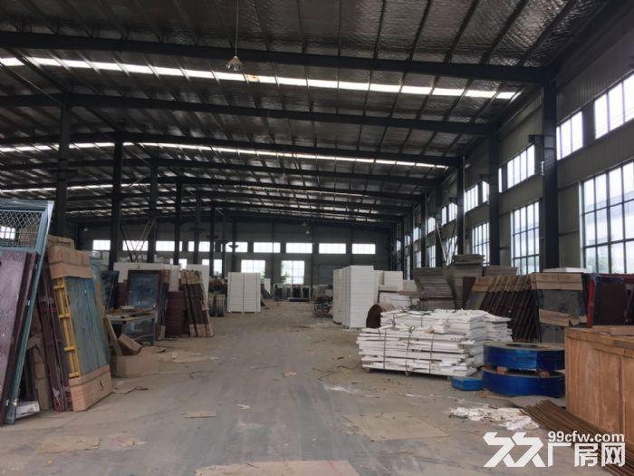 江夏区白沙洲大道旁标准2000㎡钢构厂房出租-图(6)