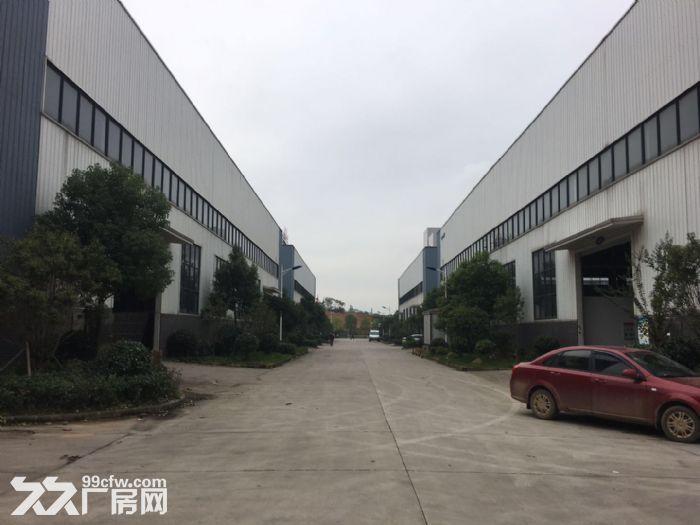 江夏区大桥新区四环旁2000㎡钢构厂房出售-图(1)
