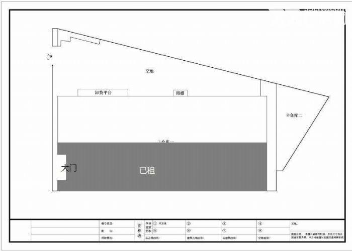 大岗独院简易天车7200方厂房出租、靠近东新高速-图(2)