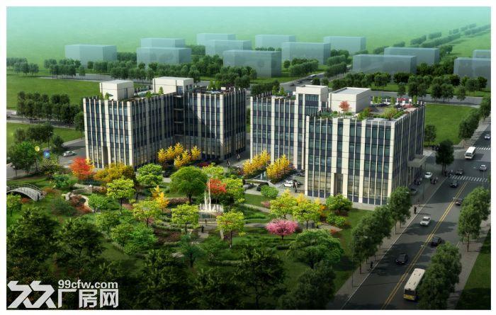 天津西青外环园区5亩−10亩工业地定制庭院式厂房办公楼出售-图(3)