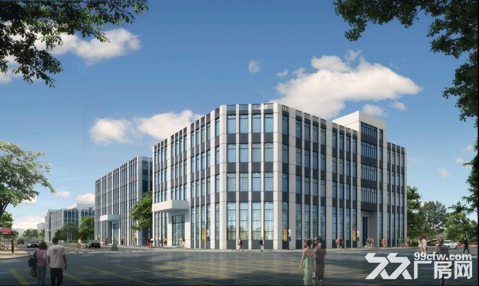 天津西青外环园区5亩−10亩工业地定制庭院式厂房办公楼出售-图(4)