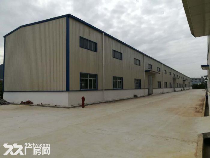 福清洪宽工业区标准钢构厂房出租-图(1)