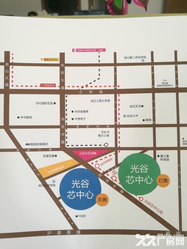 光谷大道多种户型厂房/研发楼/独栋出售-图(3)