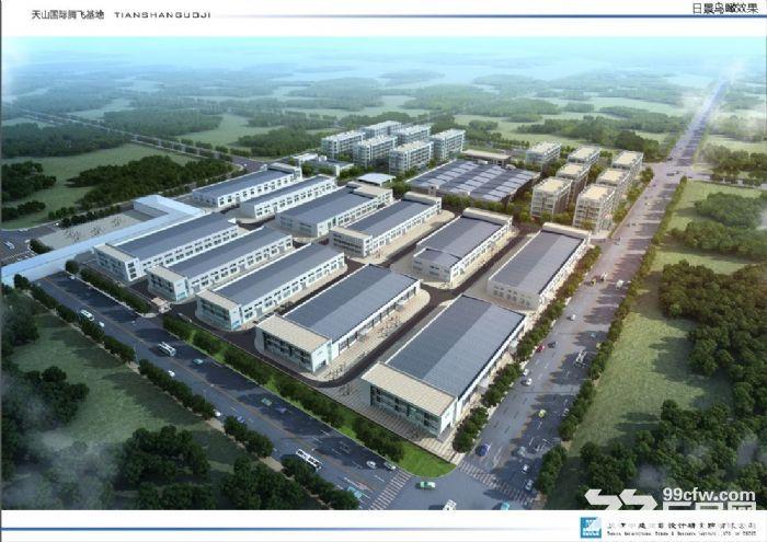 天津西青外环园区5亩−10亩庭院式厂房定制办公楼独栋厂房出售-图(2)
