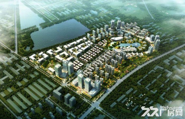 带环评、西青外环园区5亩−10亩庭院式厂房独栋办公楼出售-图(1)