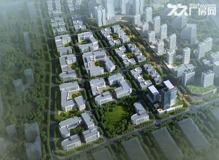 带环评、西青外环园区5亩−10亩庭院式厂房独栋办公楼出售-图(4)