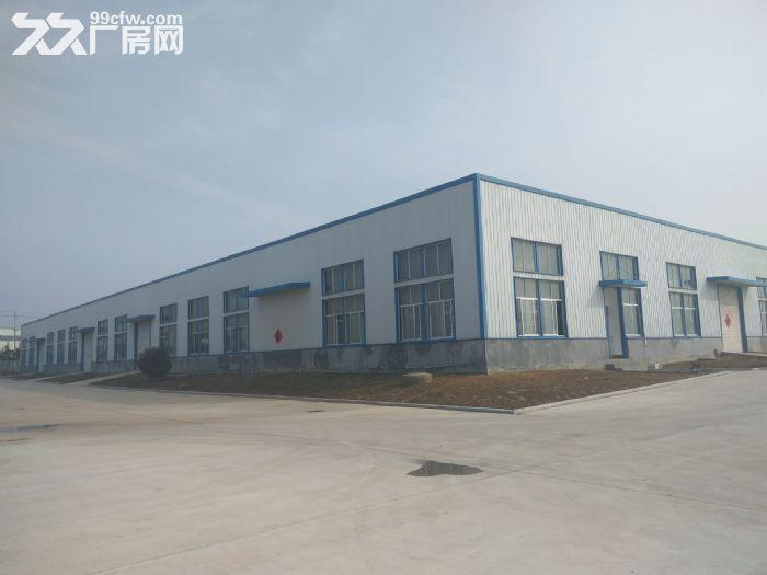 独门独院交通便利标准钢结构仓库最低价出租-图(1)