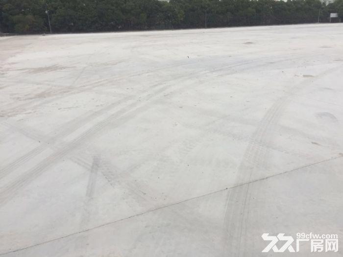 香花桥工业用地30亩出租土地已硬化各种堆场停车场-图(1)