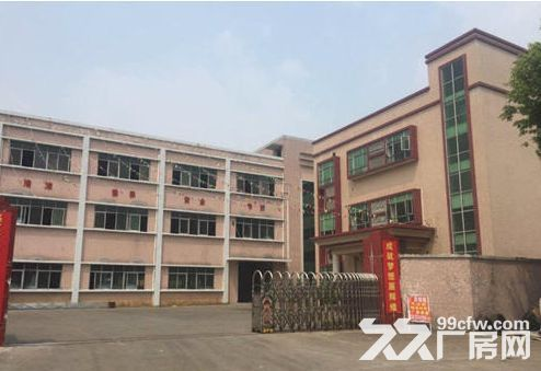 东升裕民新出二楼厂房1340平米、现成地坪漆-图(1)