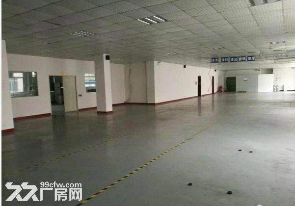 同茂工业区新出三楼520平米、通风整洁、带装修-图(2)