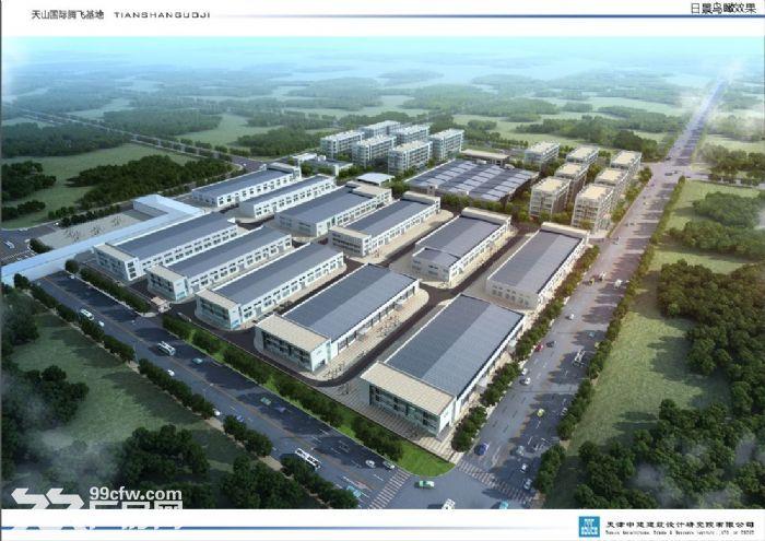 带环评、梅江工业园区10亩定制庭院式厂房办公楼出售-图(1)