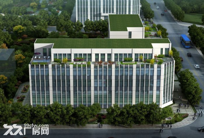 带环评、梅江工业园区10亩定制庭院式厂房办公楼出售-图(3)